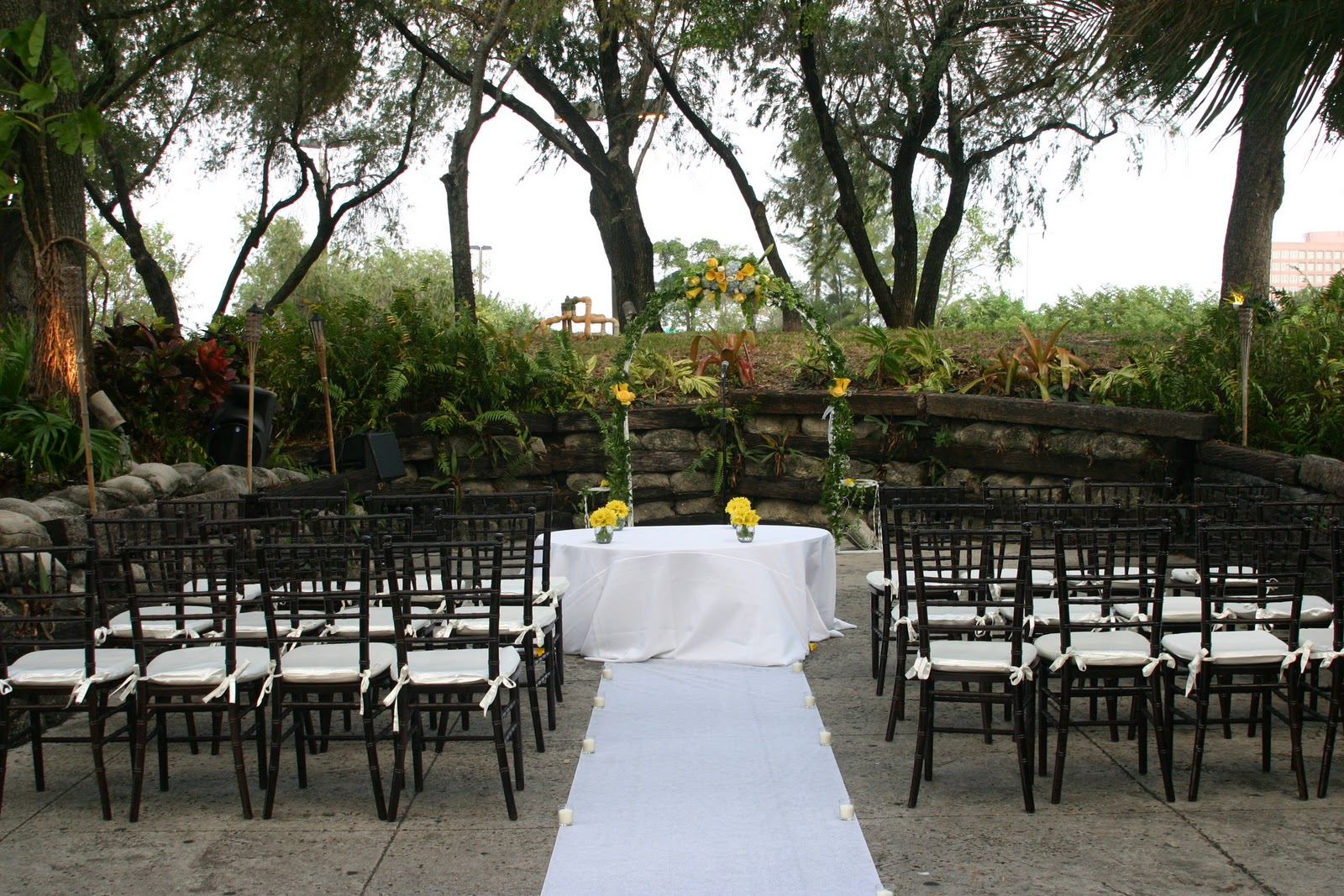 94th Aero Squadron Miami Outdoor Ceremony