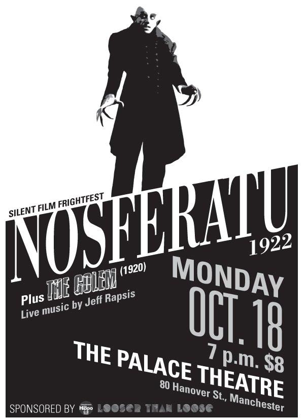 Jeff Rapsis / Silent Film Music: Coming soon: 'Nosferatu' (1922) on