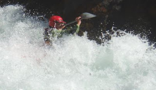 whitewater kayaking Trinity River Hell Hole Rapid