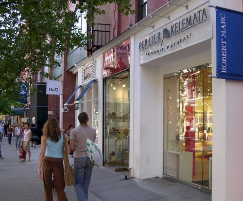 Meatpacking district clothing stores