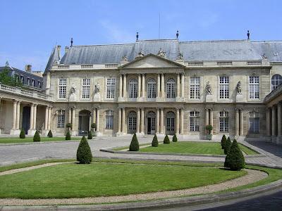 Palácio clássico de Rohan-Soubise, Paris, castelos medievais