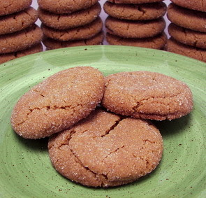 Swedish Gingersnap Cookie Picture