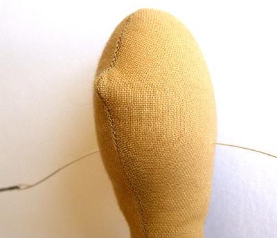 Нашла МК как шить Тильде волосики. свой цитатник или сообщество.