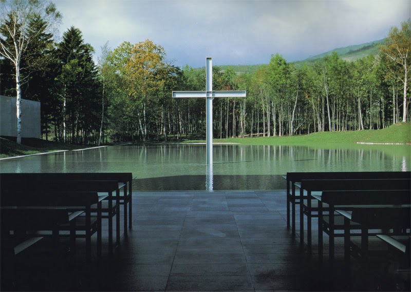 My Architectural Moleskine 174 Tadao Ando Church On Water