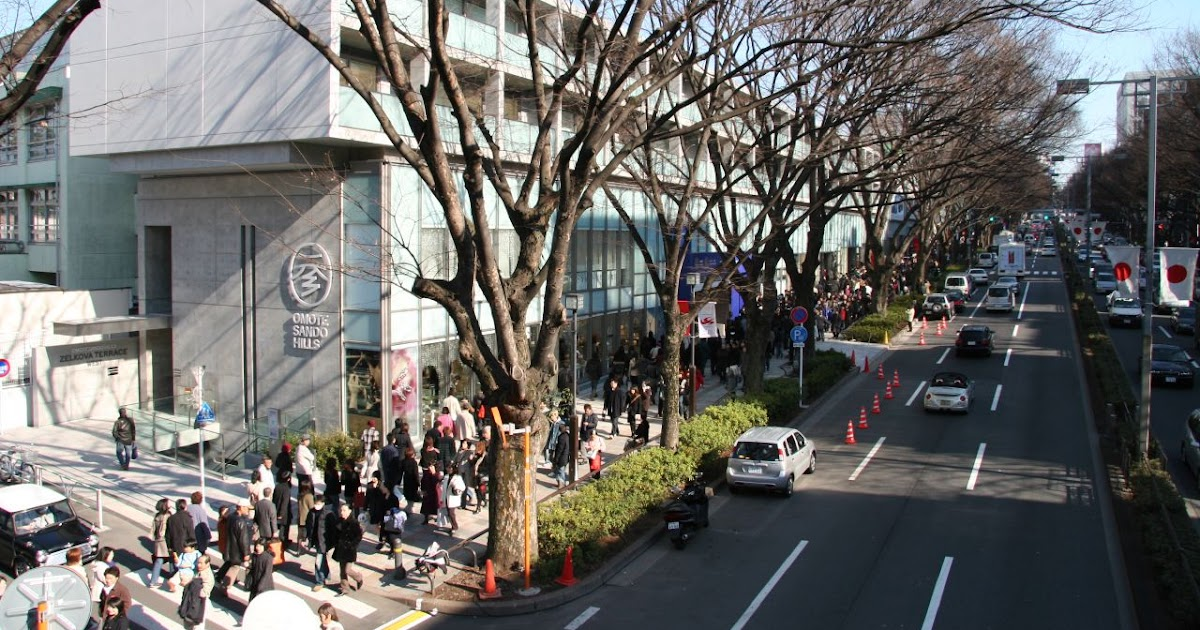 My Architectural Moleskine 174 Tadao Ando Omotesando Hills