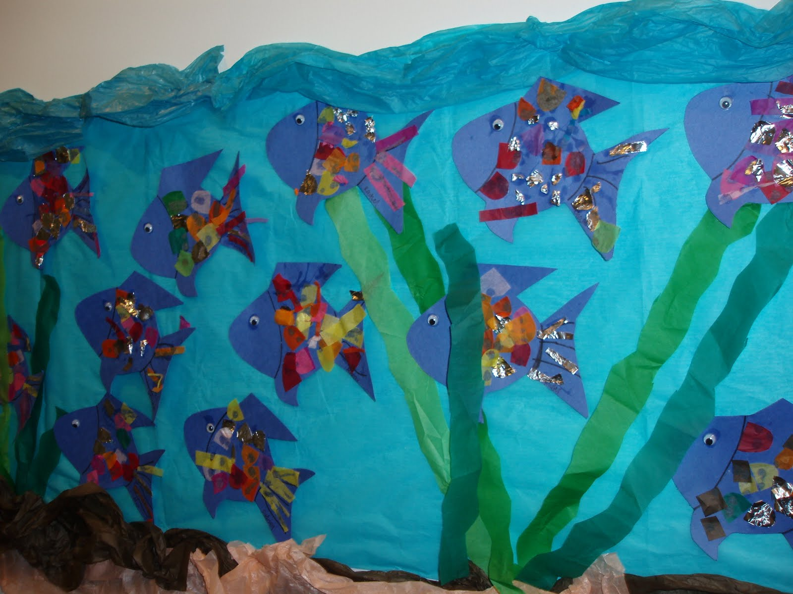Learning By Numbers Rainbow Fish