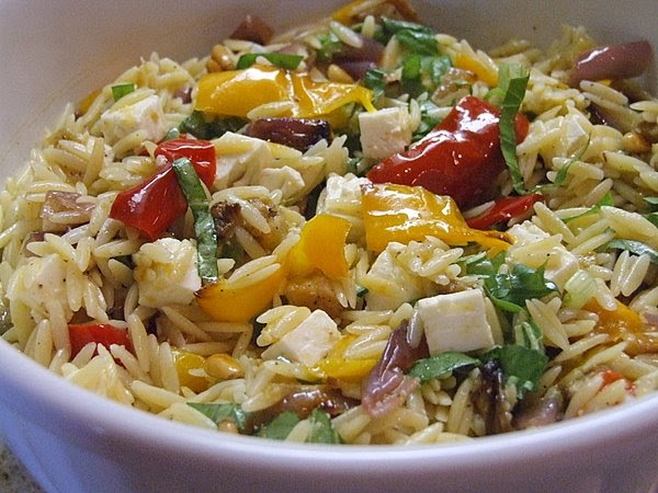The Recipe Girl Ina Garten S Orzo With Roasted Vegetables