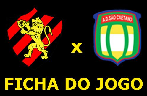 Assistir Sport x São Caetano ao vivo 20h30 Brasileirão Série B
