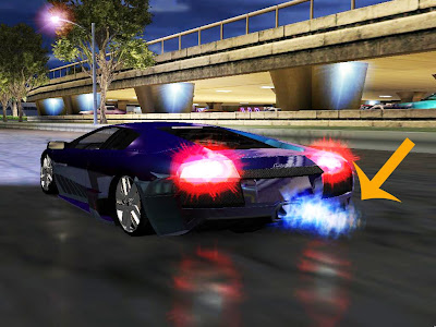 NFSU2 - Fogo do Nitro Azul | NOME DO SEU SITE
