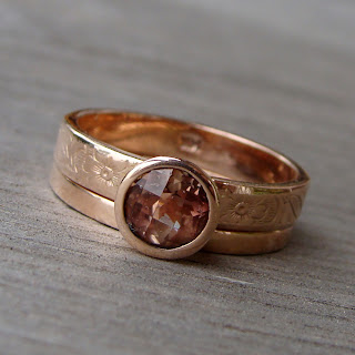 sunstone rose gold