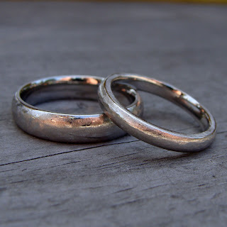 recycled palladium rings