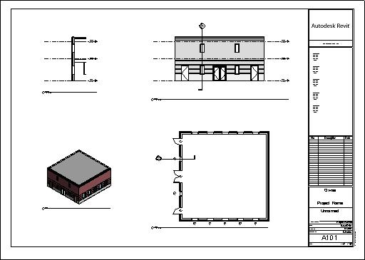 College and Beyond: Two Story Warehouse in Revit