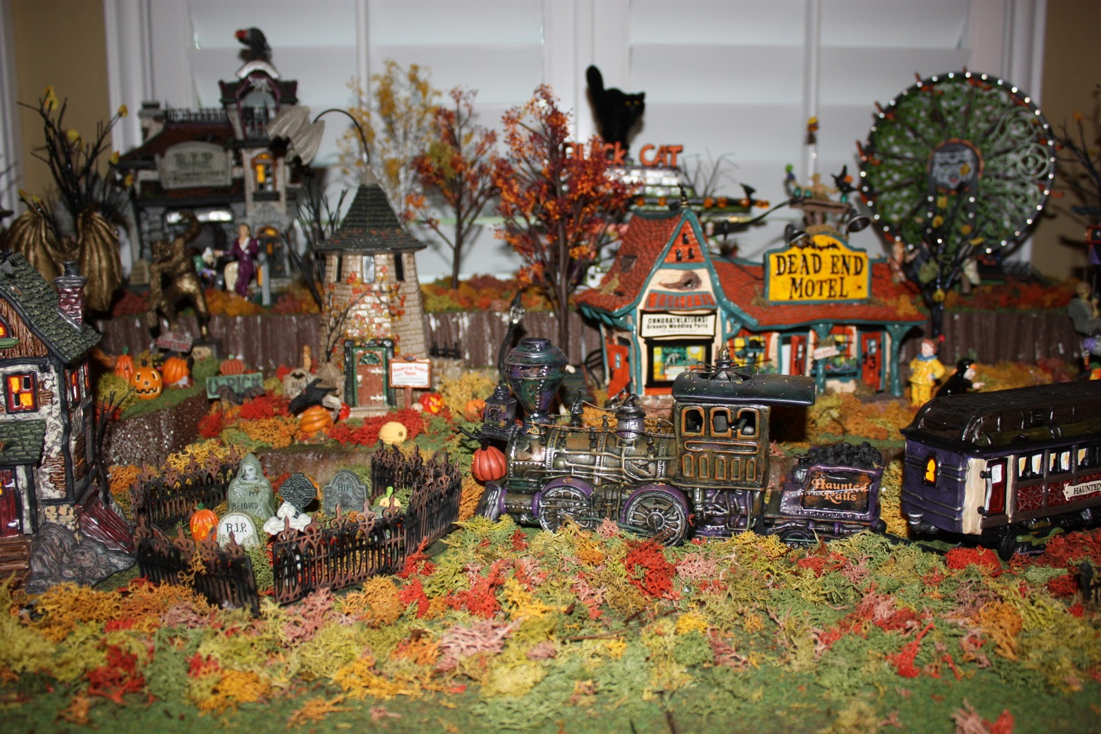 Wordless Wednesday Halloween Village Love Laughter