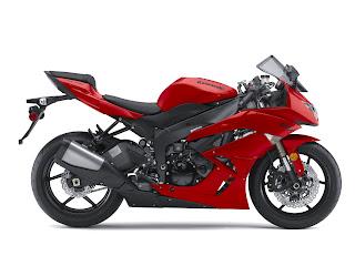 2010 Kawasaki Ninja ZX 6R Motorcycle