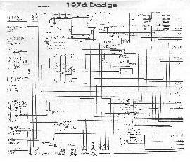 Circuit and Wiring Diagram: 1976 Dodge Monaco Wiring Diagram