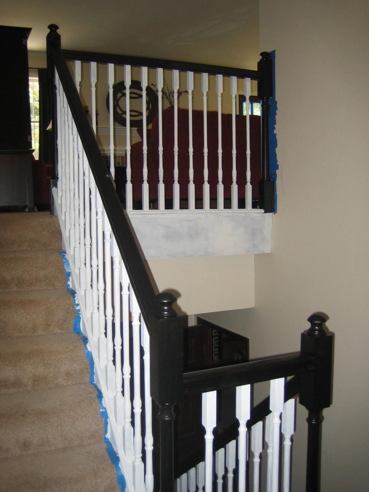 Barnhouse1128 Banister Renovation