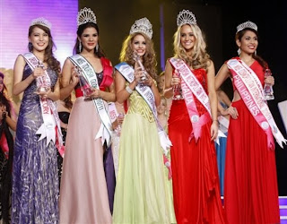 Miss Tourism International 2010 winners