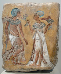 Relief in the Amarna style