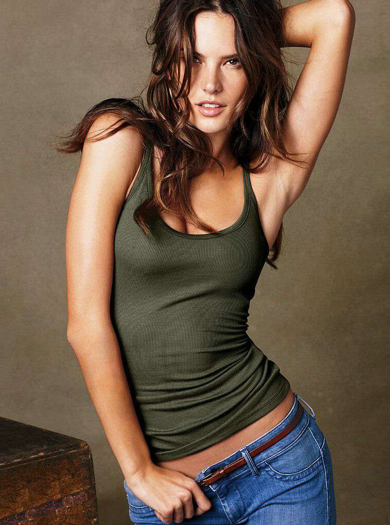 Pity, alessandra ambrosio see through lingerie