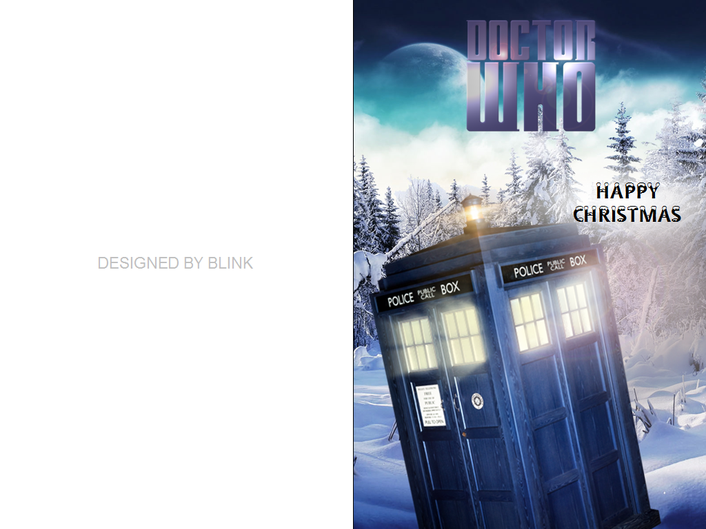 Doctor Who Christmas Cards.Blink Doctor Who Christmas Cards By Blink