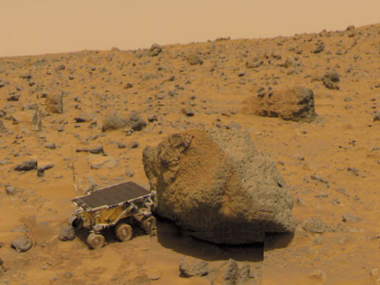 1996 Mars Pathfinder Rover (page 2) - Pics about space