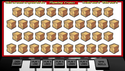 Free Slots Flaming Crates