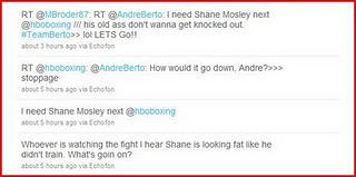 Andre Berto twitter page