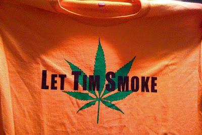 Let Tim smoke t-shirt
