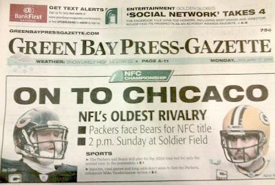 Green Bay Press-Gazette's On to Chicaco