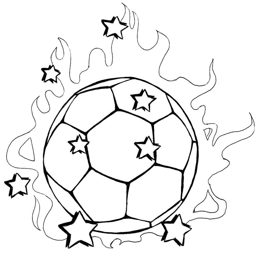 Bola De Futebol Para Colorir Desenhos Para Colorir Desenhos