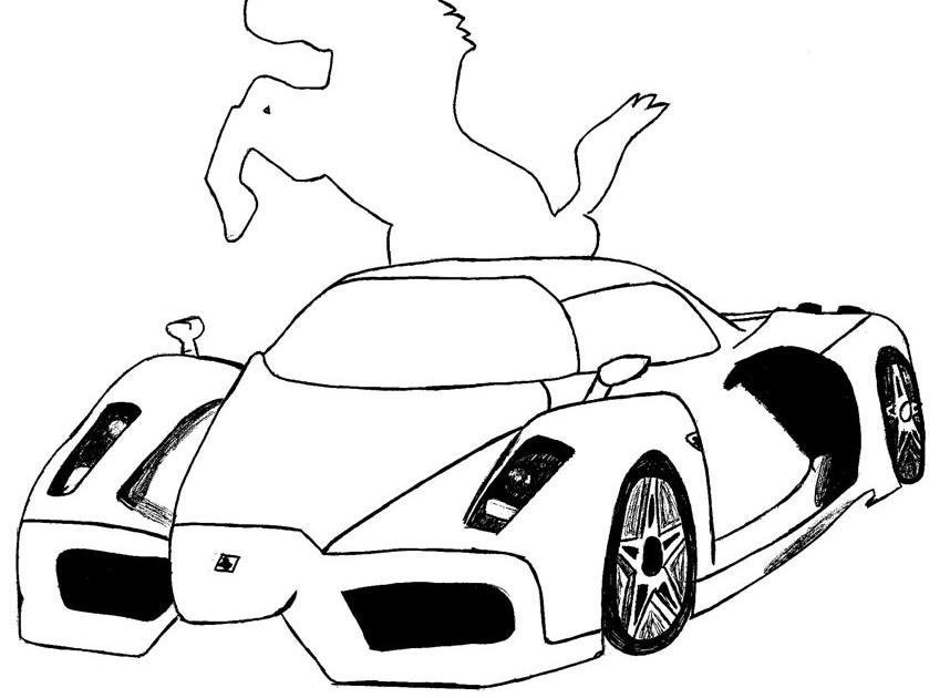 Desenho Para Colorir De Carros Disney: Desenhos De Carros Para Pintar