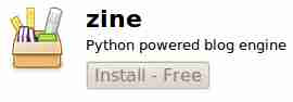 Zine blogging software ubuntu linux