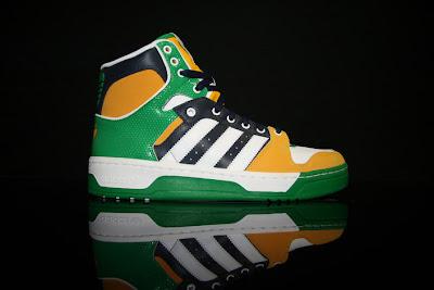 various colors 8988c 9df1d Adidas Conductor Hi GreenBlackYellowWhite Remake