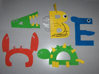 awesome letter crafts