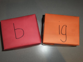 using big dice to make words