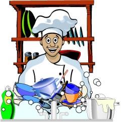 Bar service and tourism school steward for Ayudante de cocina funciones