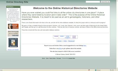 Genea-Musings: Online Historical Directories