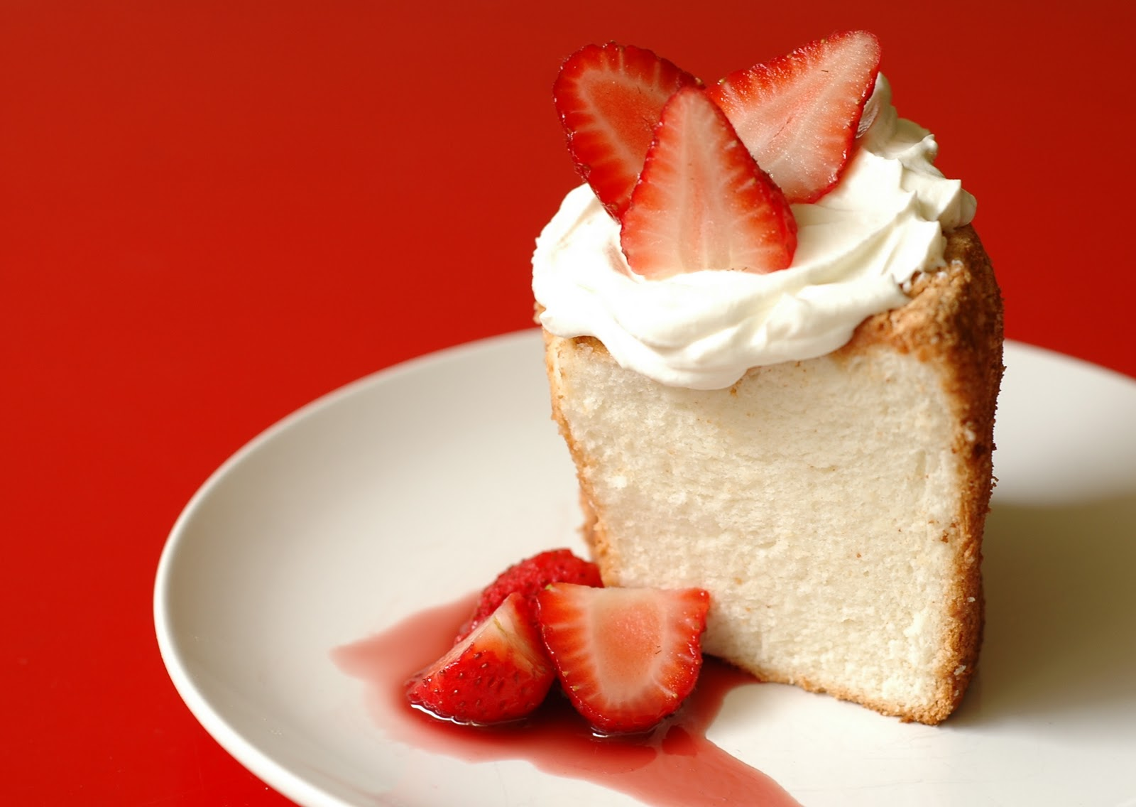 Low Sugar Angel Food Cake