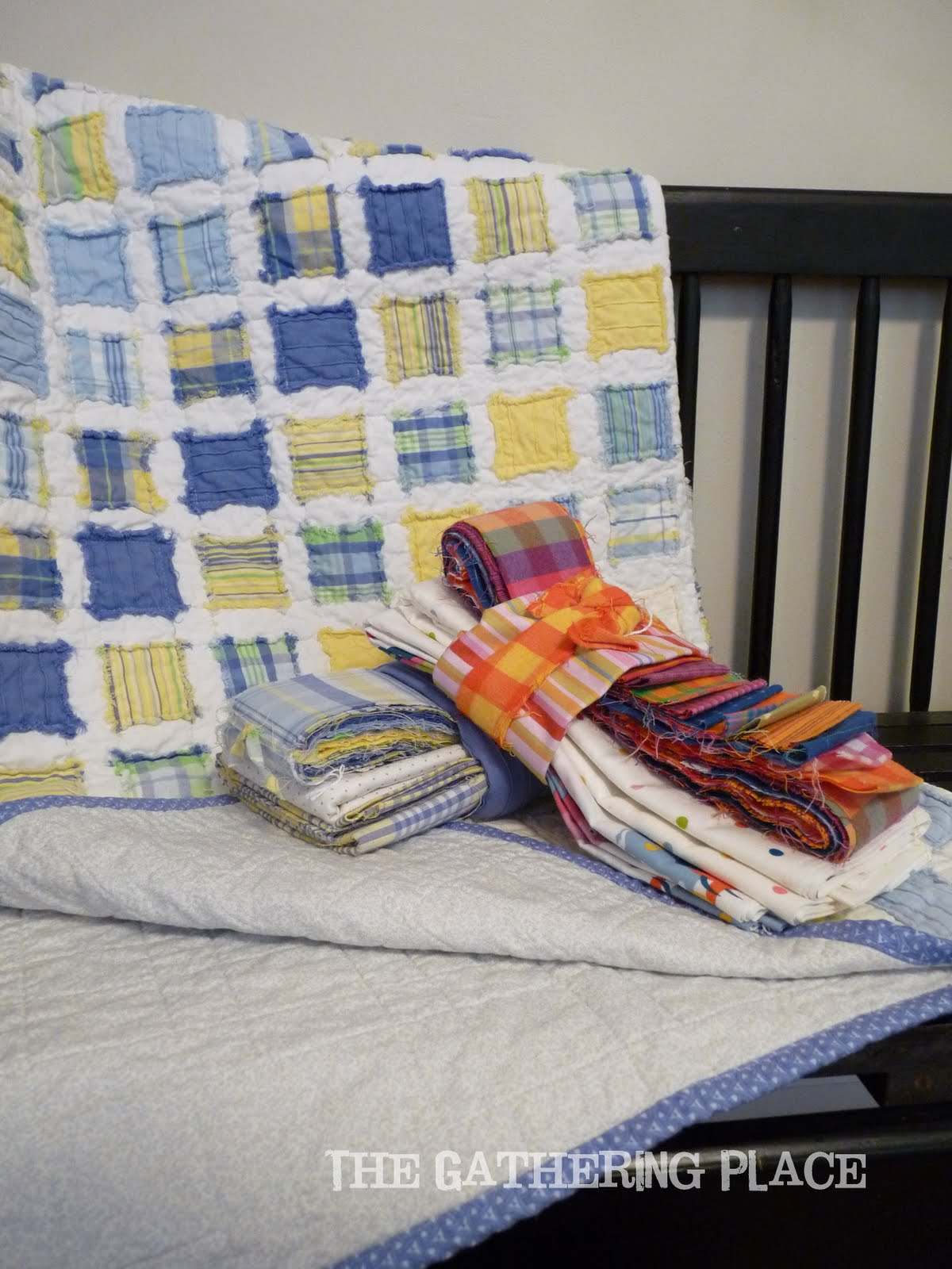 The Gathering Place Quilts Vintage Baby Quilt
