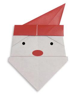 Sweet Tresa How To Fold Santa Origami Ways - Origami-papa-noel