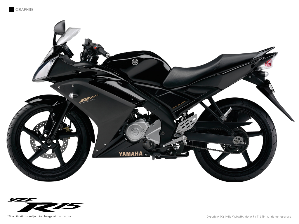 Yamaha R15 bike picture with all available colorsYamaha New Bike 2014 R15
