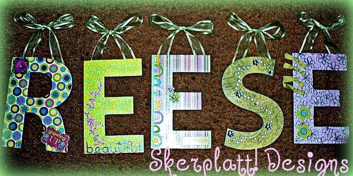 Skerplatt Designs Decorative Letters Amp Name Displays