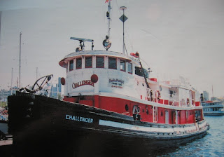 Windborne in Puget Sound: m/v Challenger