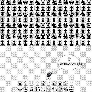 This is sparta chess, this is sparta, chess