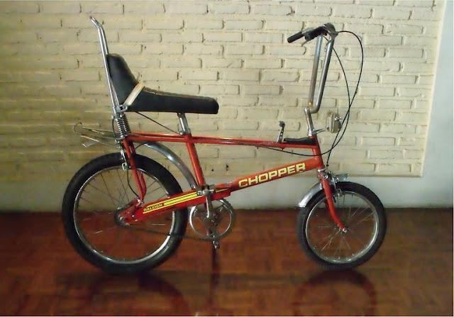 vintage garage cycle: Raleigh Chopper Mk2 1975