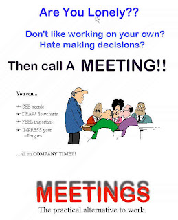 Feeling lonely have a meeting