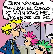 Humor Informatico. Curso de Windows