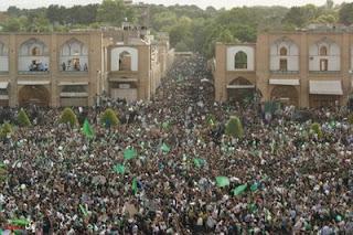 Questa non è Teheran. È Isfahan. (dal blog Lenins Tomb -20 giugno 2009)