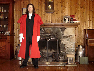 Hellsing Alucard Coat Full View