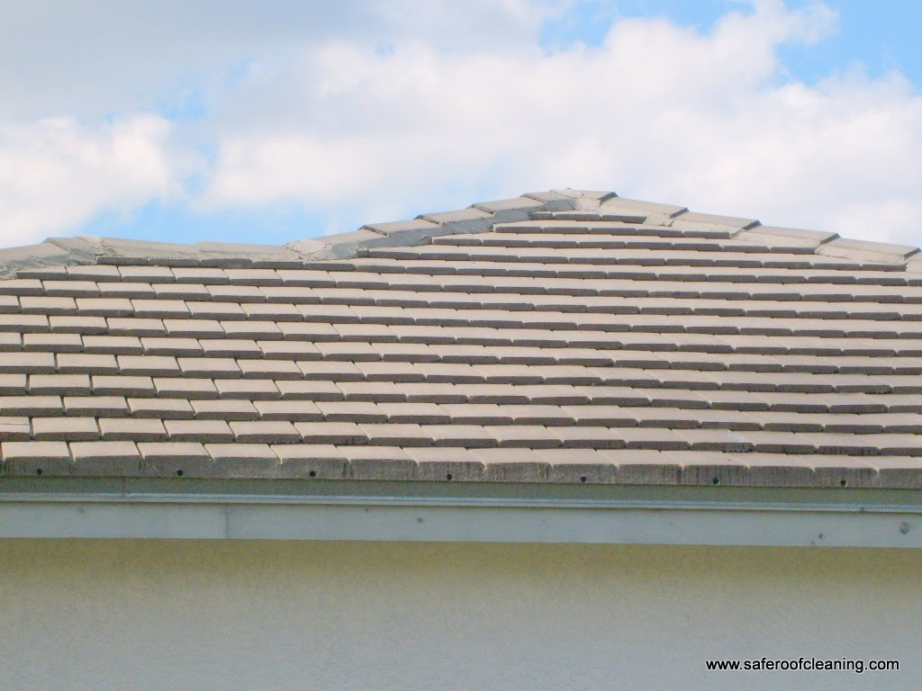 Pressure Washing Tile Roof Tampa Fl Apple Roof Cleaning